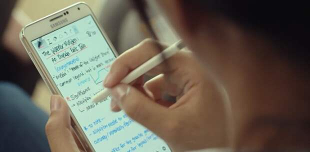 Samsung снова научит мир писать от руки