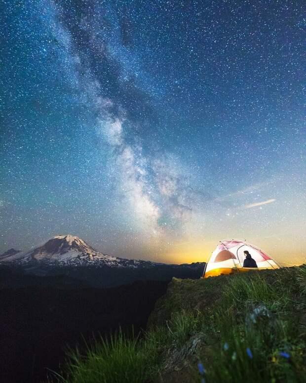 Clearwater Wilderness. Штат Вашингтон