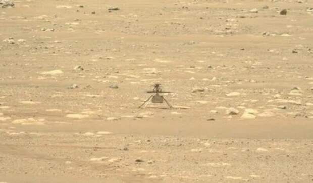 НАСА: первый полет вертолета на Марсе состоится 19 апреля