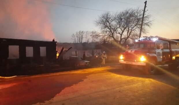 После гибели 5 детей вовремя пожара вГорноуральском ГОобъявлен траур