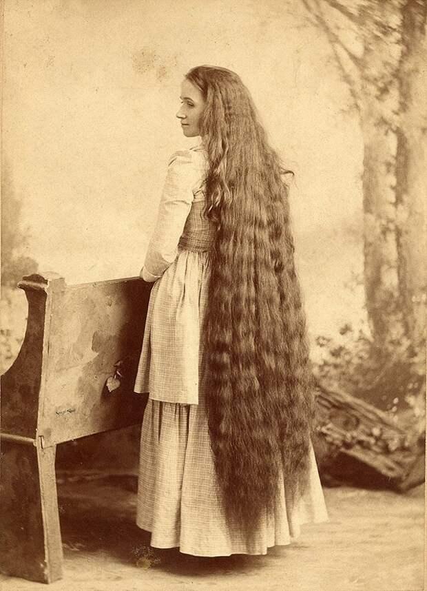 Rapunzels12 История красоты — известные «рапунцели» XIX века