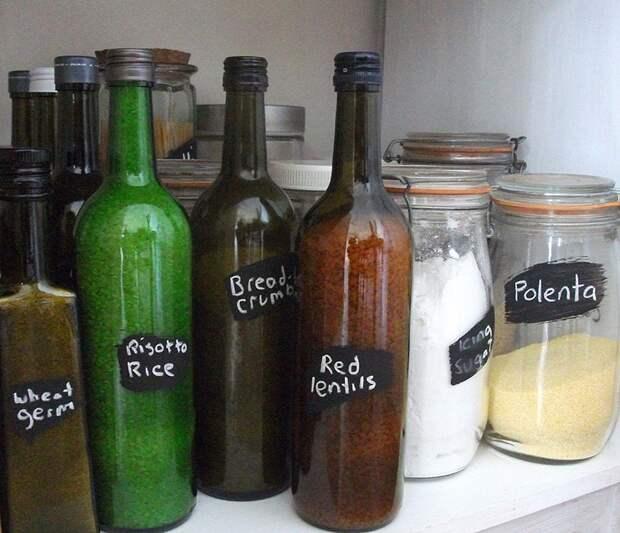 WineBottle22 22 способа превратить пустую бутылку в практичное произведение искусства