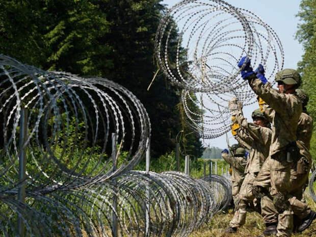 Беларусь не пропускает из Литвы обратно мигрантов, нелегально проникающих через ее границу