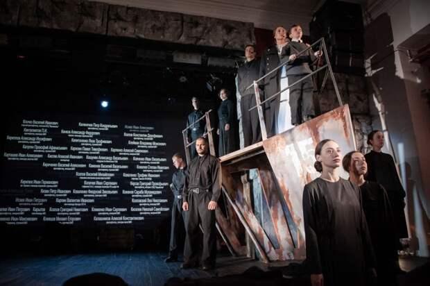 В Государственном театре юного зрителя состоялась премьера документального спектакля «Евпаторийский десант»