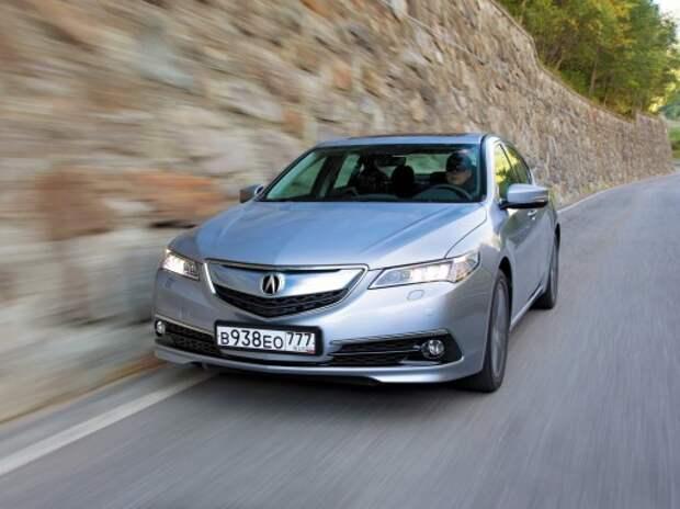 Тест Acura TLX: и меняться нельзя!