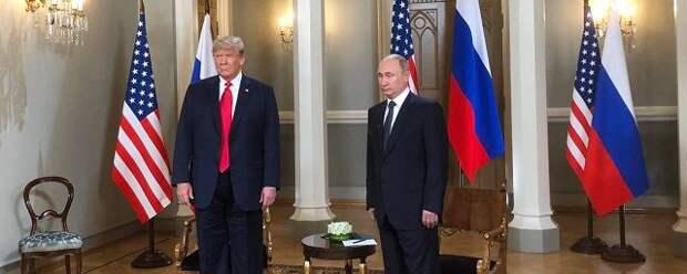 Трамп: Нет ничего плохого в том, что я хорошо лажу с Путиным