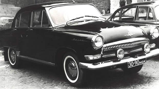 Секретные автомобили госбезопасности СССР