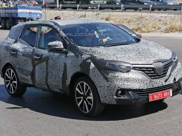 Шпионы доказали, что новый Renault Koleos почти готов