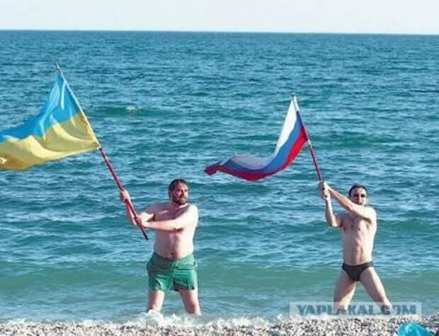 В Турции подрались русские и украинские туристы