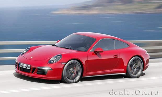 Porsche добавляет 4 GTS варианта к линейке 911 для 2015 модельного года