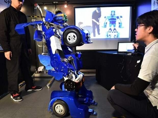 Робот-трансформер создан в Японии (ВИДЕО)