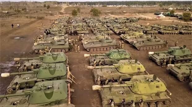 «Ржавый металлолом»: в Сети посмеялись над видео с учений украинской армии