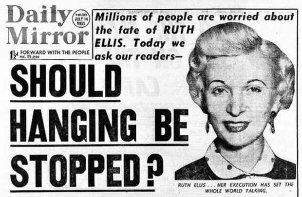 За что экс-модель застрелила своего любовника, или Почему британцы не осуждали последнюю казнённую