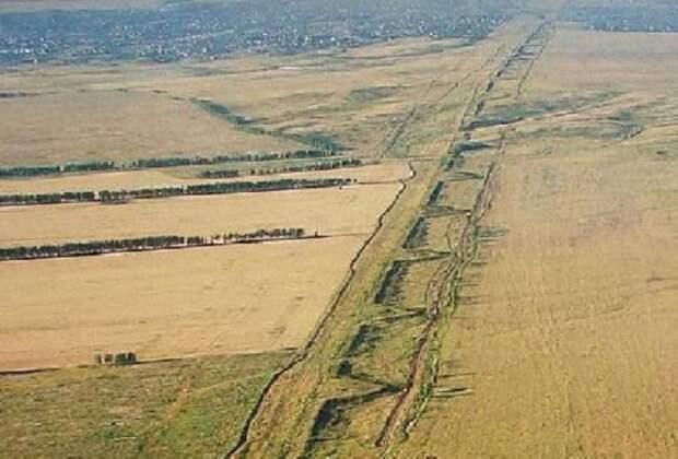 Змиевы валы и Великая Заволжская стена
