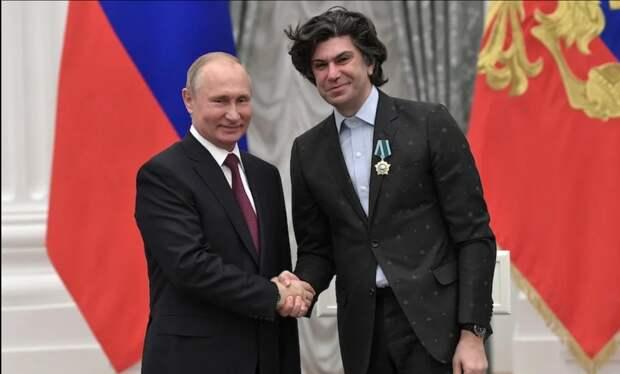 Николай Цискаридзе о Путине: «У меня к нему большое уважение»