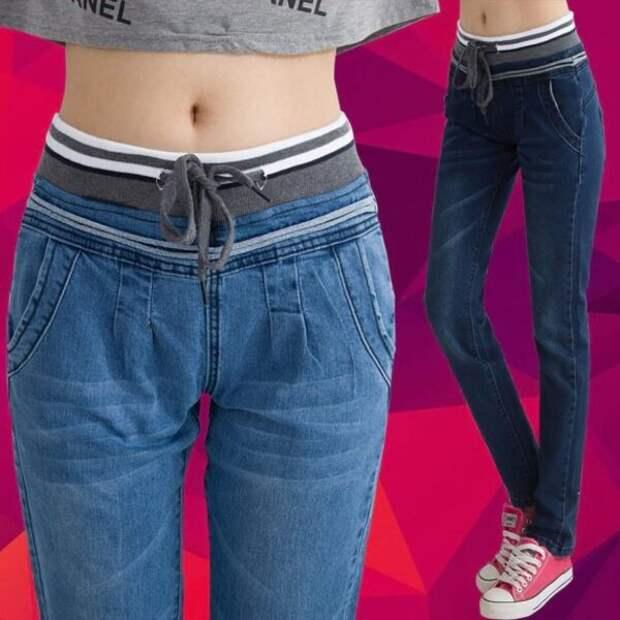 Способ переделать джинсы