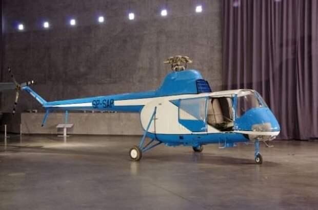 Восстановлен вертолет редкой модели WSK SM-2