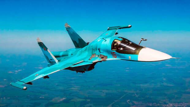 Совсем не гадкий «Утёнок»: Минобороны показало, на что способен Су-34