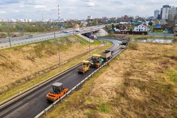 Еще 40 участков дорог отремонтируют за год в Мытищах
