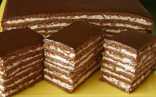 Торт Спартак. Изумительный десерт с пикантным вкусом 2