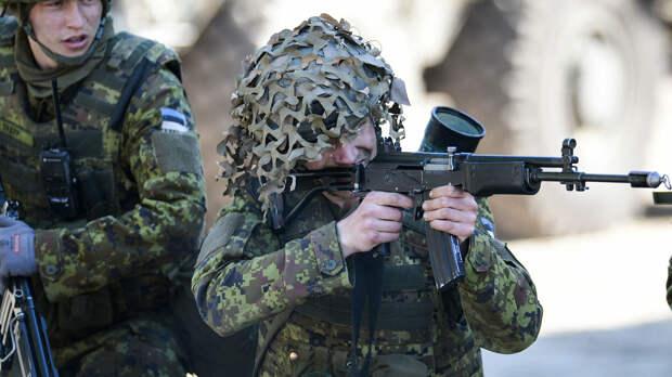 В Эстонии начинаются масштабные учения с участием военных НАТО