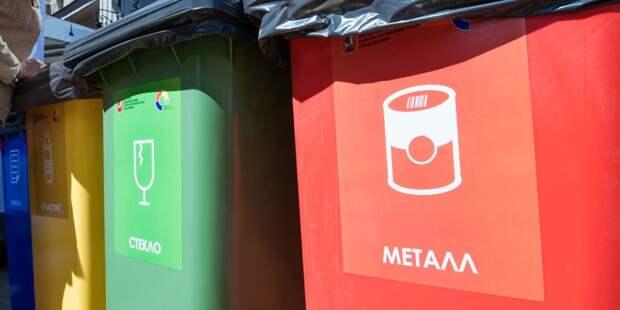 Раздельный сбор мусора / Фото: mos.ru