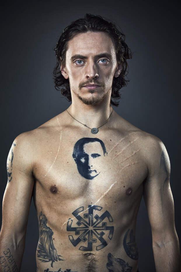 Сергей Полунин татуировки