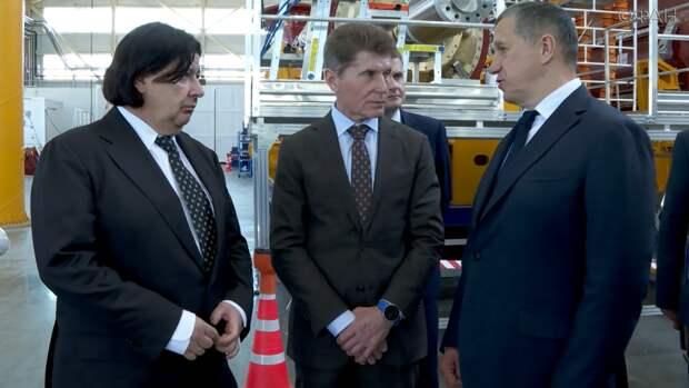 Полпред Юрий Трутнев прибыл в Приморье