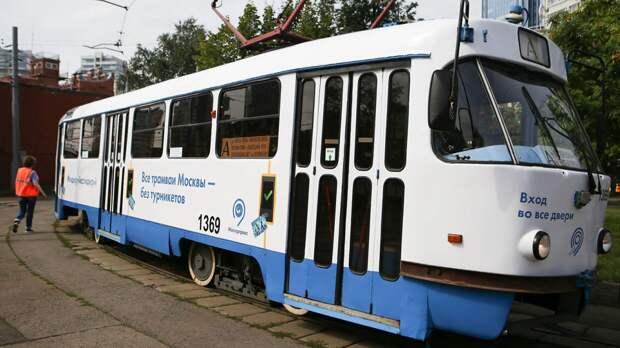 Первые односекционные трамваи появились на северо-западе Москвы