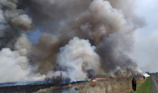 Сломался самолет тушивший пожары в Тюменской области