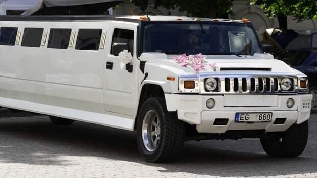 Cadillac из свадебного кортежа совершил наезд на двух девочек под Челябинском