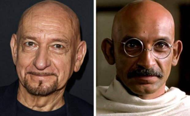 Актёры, преобразившиеся для новой роли