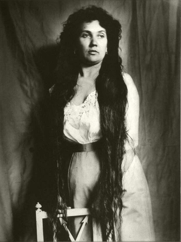 Rapunzels07 История красоты — известные «рапунцели» XIX века