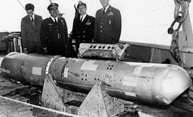 Самолет Пентагона потерял ядерную бомбу: военные засекретили место на 30 лет. Видео