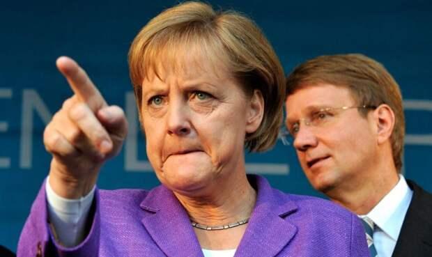 Ангелу Меркель немного жалко