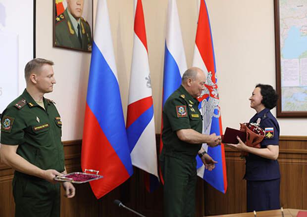 Военнослужащие ЮВО отпраздновали День России