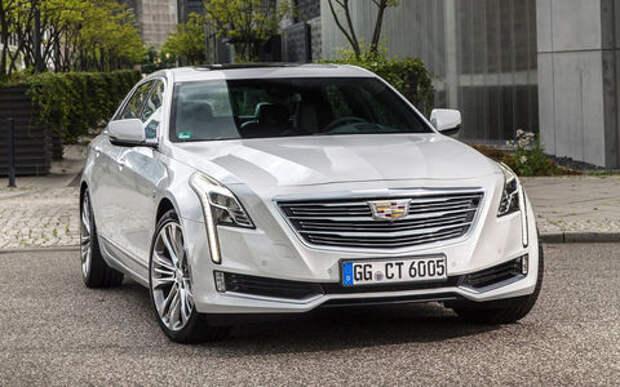 Cadillac привезет в Россию самый большой седан