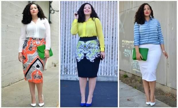 Советы стилиста: главные правила моды для полных девушек