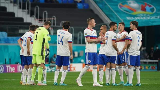 Игроки сборной России не стали преклонять колено на стартовой игре ЧЕ