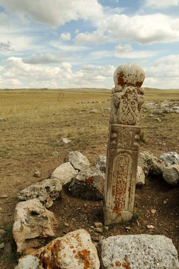 Кулпытасы. Таинственные памятники эпохи кочевников.